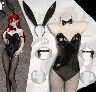 Fairy Tail Erza Bunny Cosplay - Adilsons