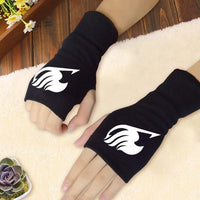 Fairy Tail: Guild logo fingerless warm mittens - Adilsons