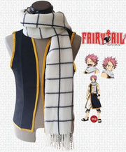 Fairy Tail is a warm, natural Natsu Dragneel scarf. - Adilsons