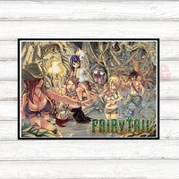 Fairy Tail Wall decoration canvas - Adilsons