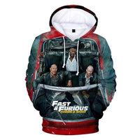 Fast and Furious 3D print hoodies. - Adilsons