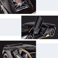 Fast and Furious black model car. - Adilsons