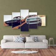 Fast and Furious canvas painting 5 pieces. - Adilsons