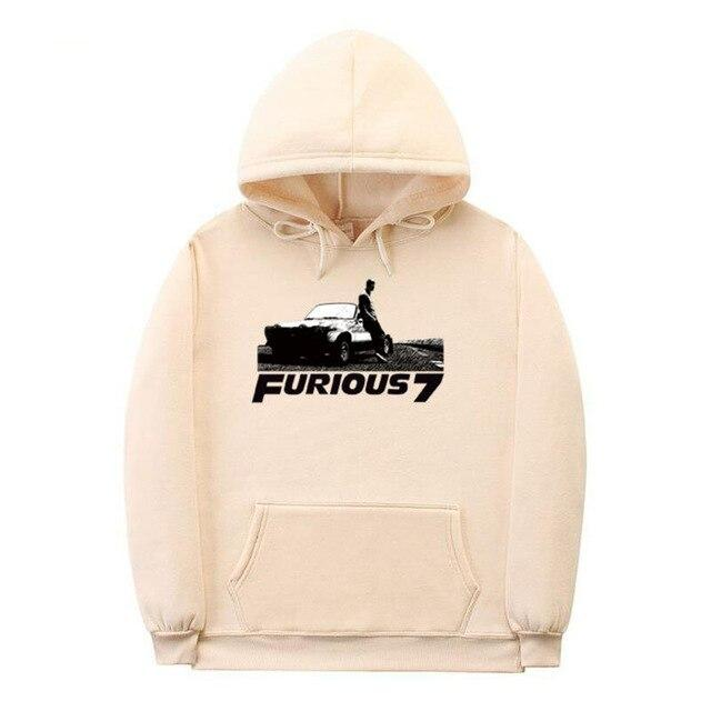 Fast and Furious casual cotton hoodies. - Adilsons