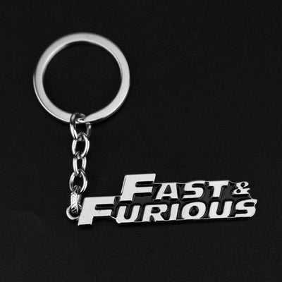 Fast and Furious metal keychain. - Adilsons