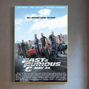 Fast and Furious posters for home decor. - Adilsons