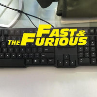 Fast and Furious sticker vinyl. - Adilsons