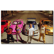Fast and Furious stylish art silk poster. - Adilsons