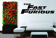 Fast and Furious vinyl decor sticker. - Adilsons