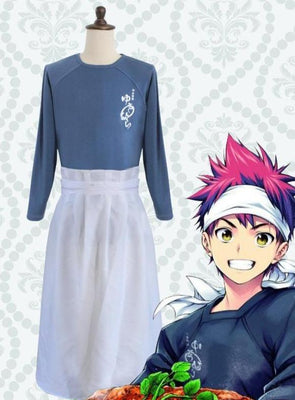 Food wars 100% cotton Yukihira Souma costume. - Adilsons