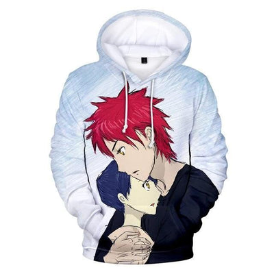 Food Wars casual hoodies. - Adilsons