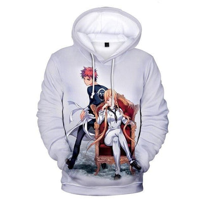 Food Wars fashion casual hoodies. - Adilsons