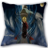 Fullmetal Alchemist decorative, high-quality pillow. - Adilsons