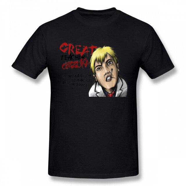GTO Teacher Onizuka cotton T-shirt. - Adilsons