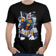 Gundam T-shirts 100% cotton short sleeve - Adilsons