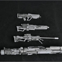 Gundam Zaku weapon set 4pcs - sniper rifle. - Adilsons