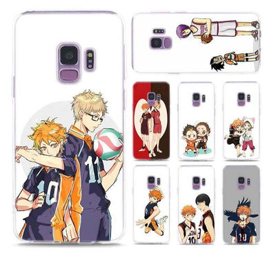 Haikyuu stylish case for Samsung. - Adilsons