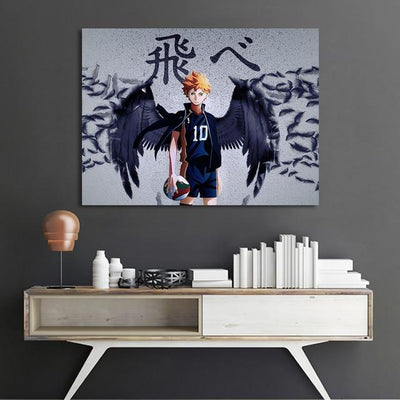 Haikyuu stylish wall art poster. - Adilsons