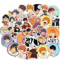 Haikyuu waterproof stickers 50pcs. - Adilsons