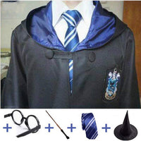 Harry Potter Cloak with Scarf and Adult Wand Cosplay. - Adilsons