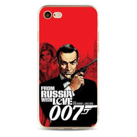 James Bond high quality silicone phone case for iPhone. - Adilsons