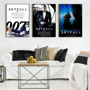 James Bond poster home decor. - Adilsons