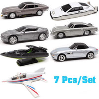 James Bond toy 7pcs/set. - Adilsons
