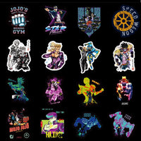 JoJo Adventure bright stickers 50pcs/set. - Adilsons