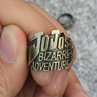 JoJo Adventure brozen cosplay rings. - Adilsons