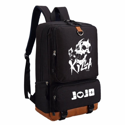 JoJo Adventure Killer Queen casual backpack. - Adilsons