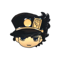 JoJo Adventure metal brooch. - Adilsons