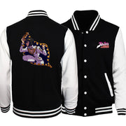 JoJo Adventure stylish baseball jacket. - Adilsons