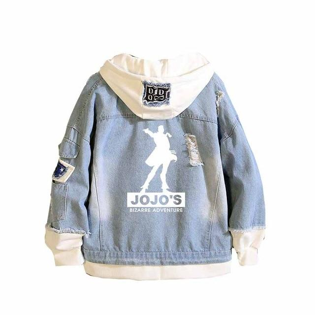 JoJo Adventure unisex denim jacket. - Adilsons