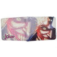 Joker high quality PU short wallet. - Adilsons