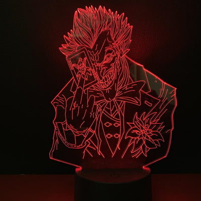 Joker led night lamp. - Adilsons