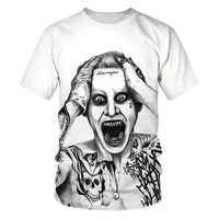 Joker сasual O-neck 3D printed T-Shirt. - Adilsons