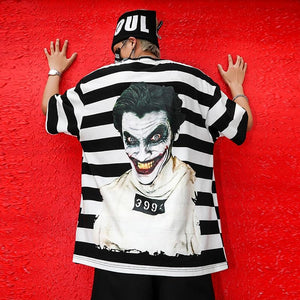 Joker striped T-shirts. - Adilsons