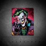 Joker waterproof vinyl PVC stickers. - Adilsons