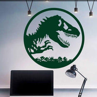 Jurassic Park colorful wall sticker. - Adilsons
