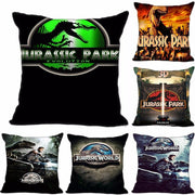 Jurassic Park decorative pillow case. - Adilsons