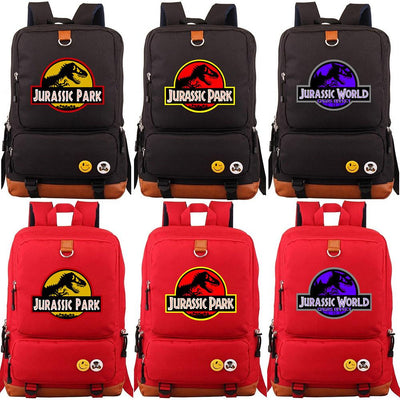 Jurassic Park teenagers backpacks. - Adilsons