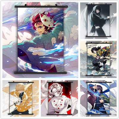 Kimetsu No Yaiba Anime quality decorative poster. - Adilsons