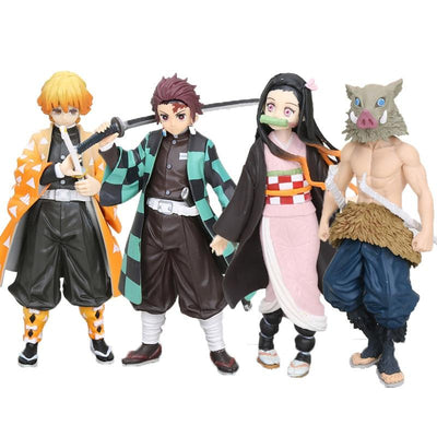 Kimetsu no Yaiba beautiful action figures. - Adilsons