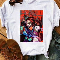 Kimetsu No Yaiba cotton T-Shirt. - Adilsons