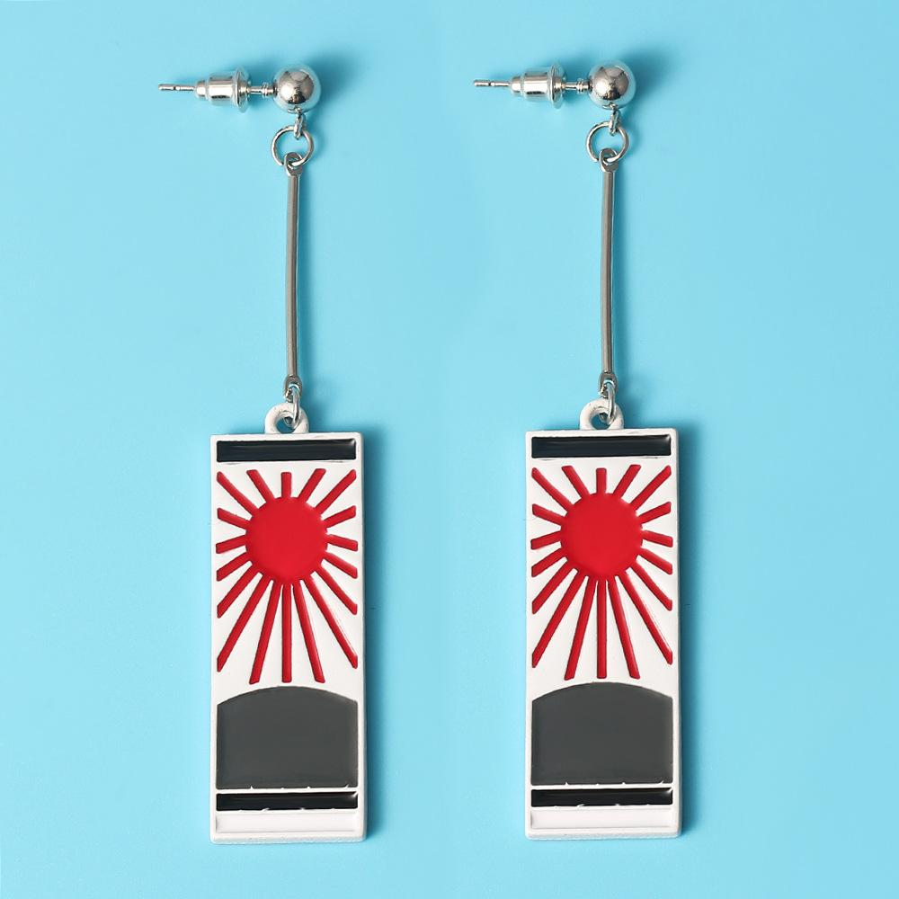 Kimetsu No Yaiba high quality accessory earrings. - Adilsons