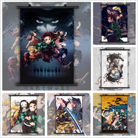 Kimetsu no Yaiba stylish wall poster. - Adilsons