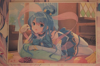 Konosuba beautiful posters 10pcs/set - Adilsons