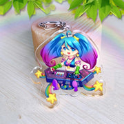 League of Legends acrylic keychain. - Adilsons