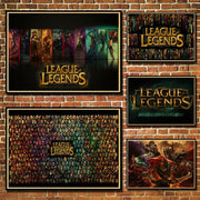 League of Legends amazing poster for wall. - Adilsons