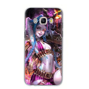 League of Legends beautiful phone case for Samsung. - Adilsons